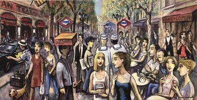 Ramon Moscardó, 'Gent. Les Rambles. BCN', 2021