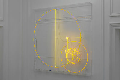 Carsten Höller, 'Divisions (Yellow Lines and Yellow Circles)', 2014