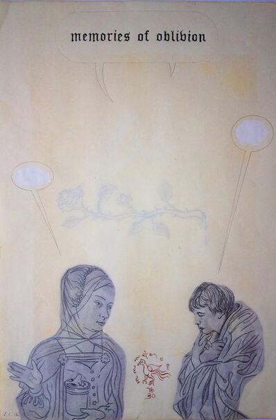 Enrique Chagoya, 'Ghostly Meditations (memories of oblivion)', 2012
