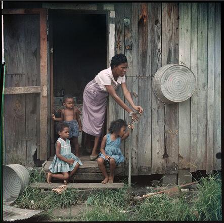 Gordon Parks, 'Mother and Children, Mobile, Alabama (37.010)', 1956