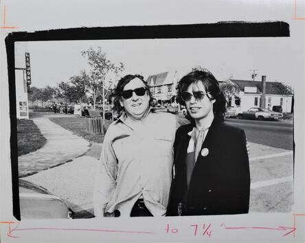 Andy Warhol, 'Mick Jagger and Terry Southern', ca. 1983
