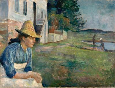 Edvard Munch, 'Evening', 1888