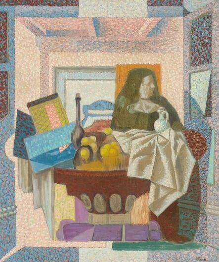Francis Criss, 'Still Life with Figure', circa 1950