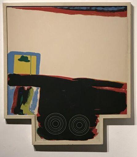 Allen Jones, 'A Fleet of Buses', 1966