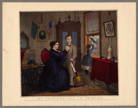 'St Patrick's Day in America', 1872