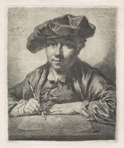 Georg Friedrich Schmidt, 'Self-Portrait', 1752
