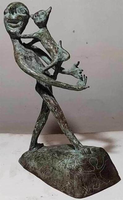 "Subrata Biswas, 'Amigo, Bronze Sculpture by Contemporary Artist ""In Stock""', 2000-2019"