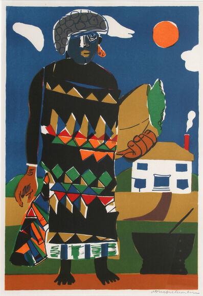Romare Bearden, 'Pilate (Mystery Island)', 1979