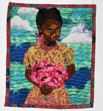 Bisa Butler, 'Flower for Faith', 2014