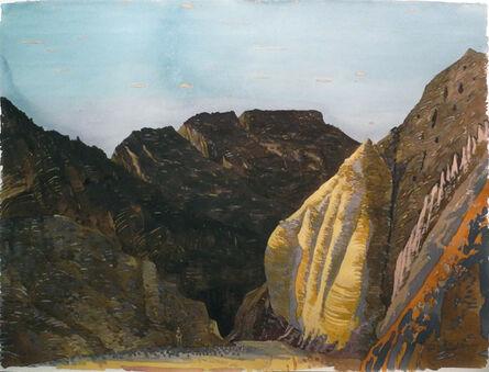 Victor Majzner, 'Entrance to Black Canyon, Wadi Sheheret', 1997