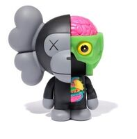 KAWS, 'Dissected Milo (Black)', 2011