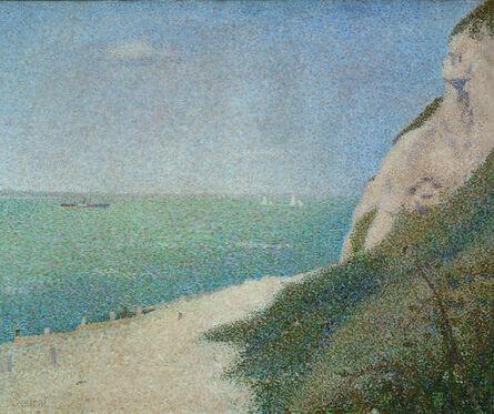 Georges Seurat, 'La Grève du Bas Butin, Honfleur', 1886