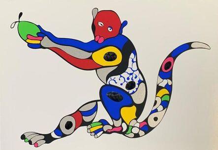 Niki de Saint Phalle, 'Singe à la mangue', 2000