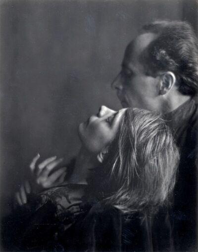 Imogen Cunningham, 'Edward Weston and Margarethe Mather', 1923