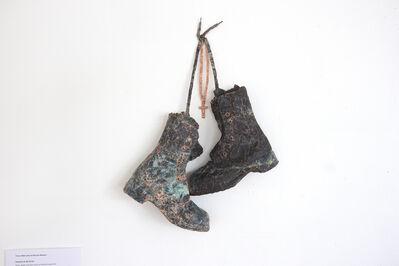 Rhonda Weppler and Trevor Mahovsky, 'Hanging up my boots', 2014