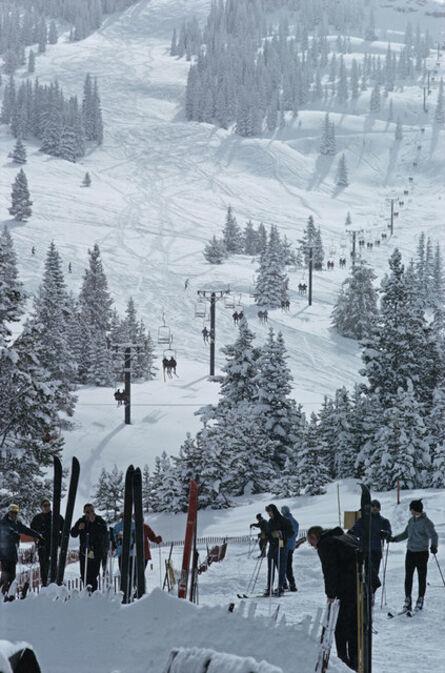 Slim Aarons, 'Skiing in Vail 1', 1964