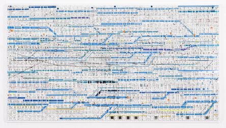 Katsumi Hayakawa, 'Traffic 1801 Blue', 2018