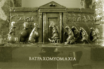 Bjorn Skaarup, 'Batrachomyomachia / The Battle of the Frogs and the Mice'