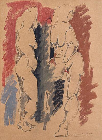 Hans Burkhardt, 'Figures', 1950