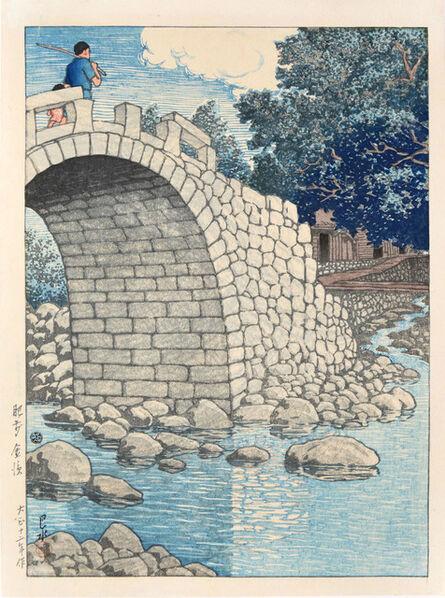 Kawase Hasui, 'Kanahama, Hizen', 1923
