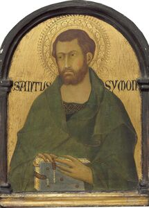Workshop of Simone Martini, 'Saint Simon', Probably ca. 1320