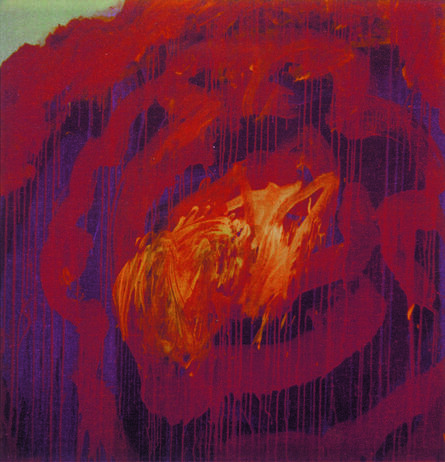 Cy Twombly, 'Painting Detail (Roses), Gaeta', 2008