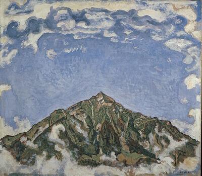 Ferdinand Hodler, 'Der Niesen vom Heustrich aus', 1910