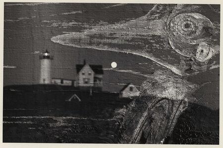 Minor White, 'Nubble Light, Cape Neddick, Maine, Double Exposure', 1969/1969