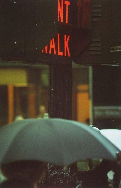 Saul Leiter, 'Don't Walk', 1952