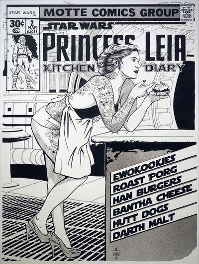 Motte, 'Princess Leia Kitchen Diary', 2019