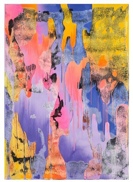 Christine Streuli, 'Warpainting_011', 2017