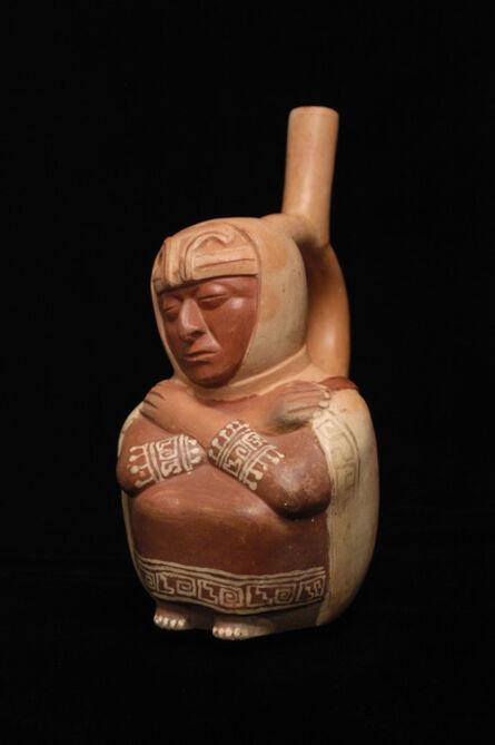 'Stirrup spout bottle of Blind Figure', 200 CE-800 CE