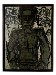 Lester Johnson, 'Grey Man', 1965