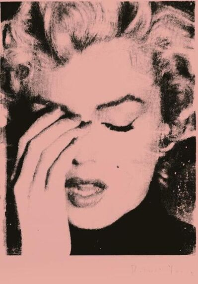 Russell Young, 'Marilyn Crying (Melrose Pink)', 2013
