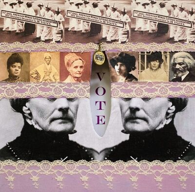 Deborah Leavy, 'Women's Suffrage, 100th Anniversary', 2020