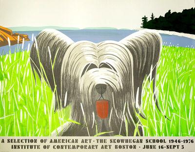 Alex Katz, 'Dog at Duck Trap', 1976