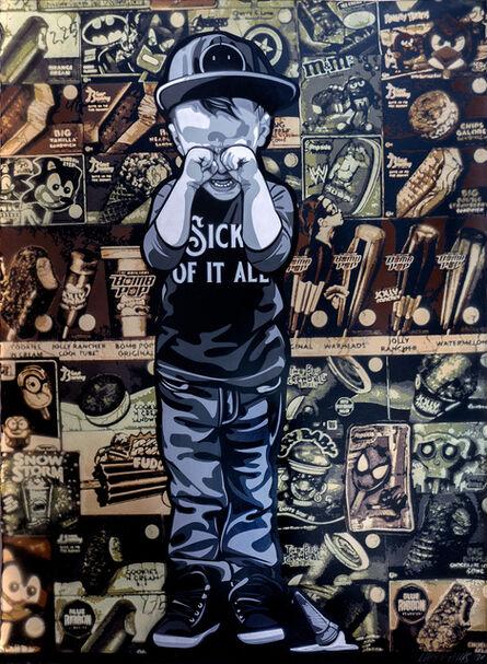 Logan Hicks, 'Sick of it All Collaboration (3)', 2020