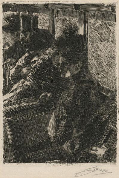 Anders Leonard Zorn, 'Omnibus', 1892