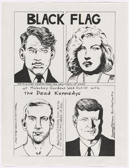 Raymond Pettibon, 'Raymond Pettibon Black Flag at Mabuhay Gardens', 1979