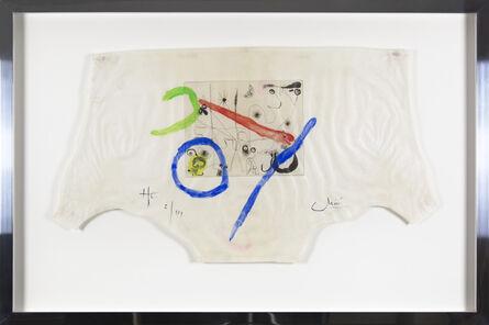Joan Miró, 'Série III: Plate IV', 1952-1953