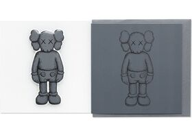 KAWS, 'KAWS x NGV Companion Greeting Card with Puffy Sticker (Dark Grey), 2019', 2019