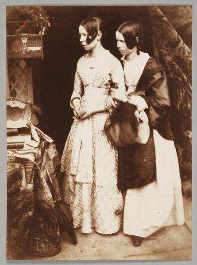 Hill & Adamson, 'Ellen and Agnes Milne', 1843–1847
