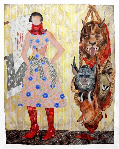Keri Oldham, 'Yellow Wallpaper', 2016