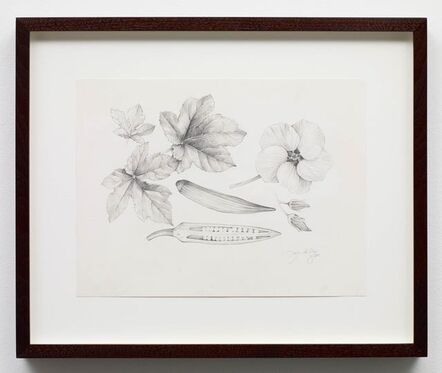 Kehinde Wiley, 'Abelmoschus Esculentus', 2015