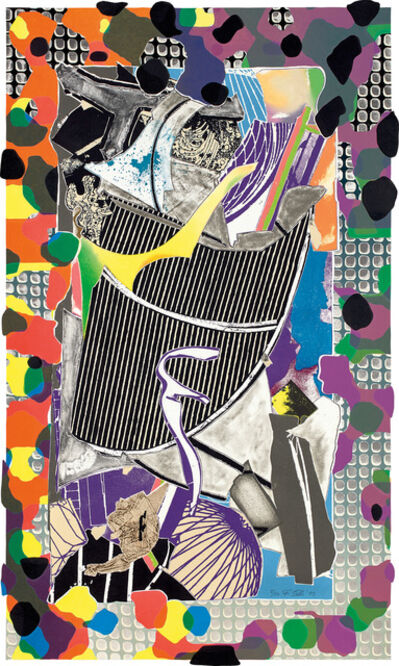 Frank Stella, 'The Battering Ram, from Moby Dick Deckle Edges (A. & K. 214)', 1993