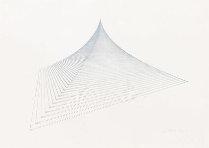 Agnes Denes, 'Probability Pyramid II', 1981