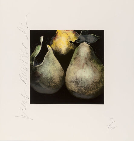 Donald Sultan, 'Pears and Red Pears, from Fruit, Flowers and Fish', 1988