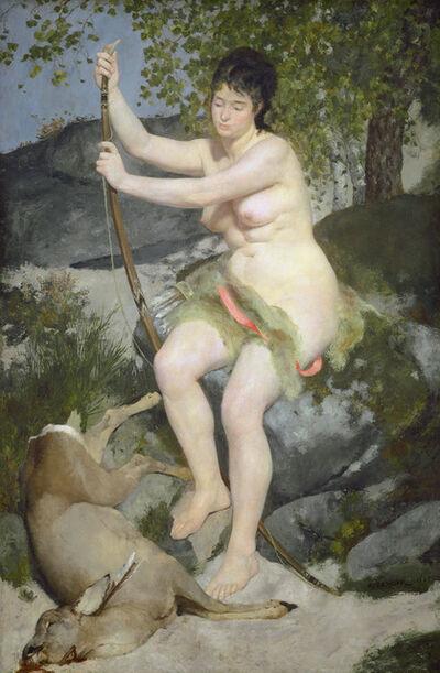 Pierre-Auguste Renoir, 'Diana', 1867