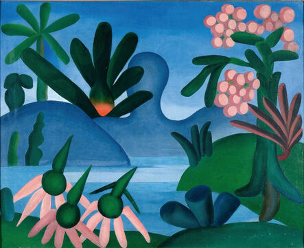 Tarsila do Amaral, 'O Lago', 1928
