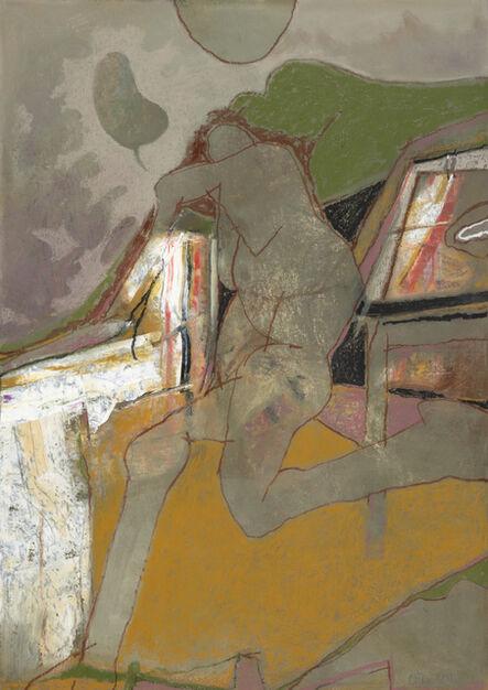 Otis Huband, 'Figure at a Table', 2019